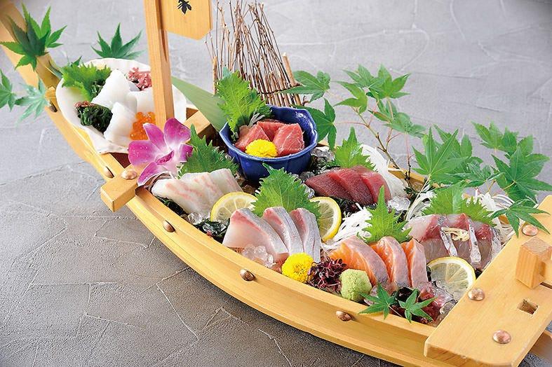 瀬戸内の新鮮魚介をふんだんに!