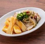 おつまみ葱叉焼と台湾メンマ
