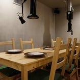 テーブル個室:6~8名様