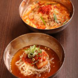 韓国風冷麺&ホルセン流辛麺