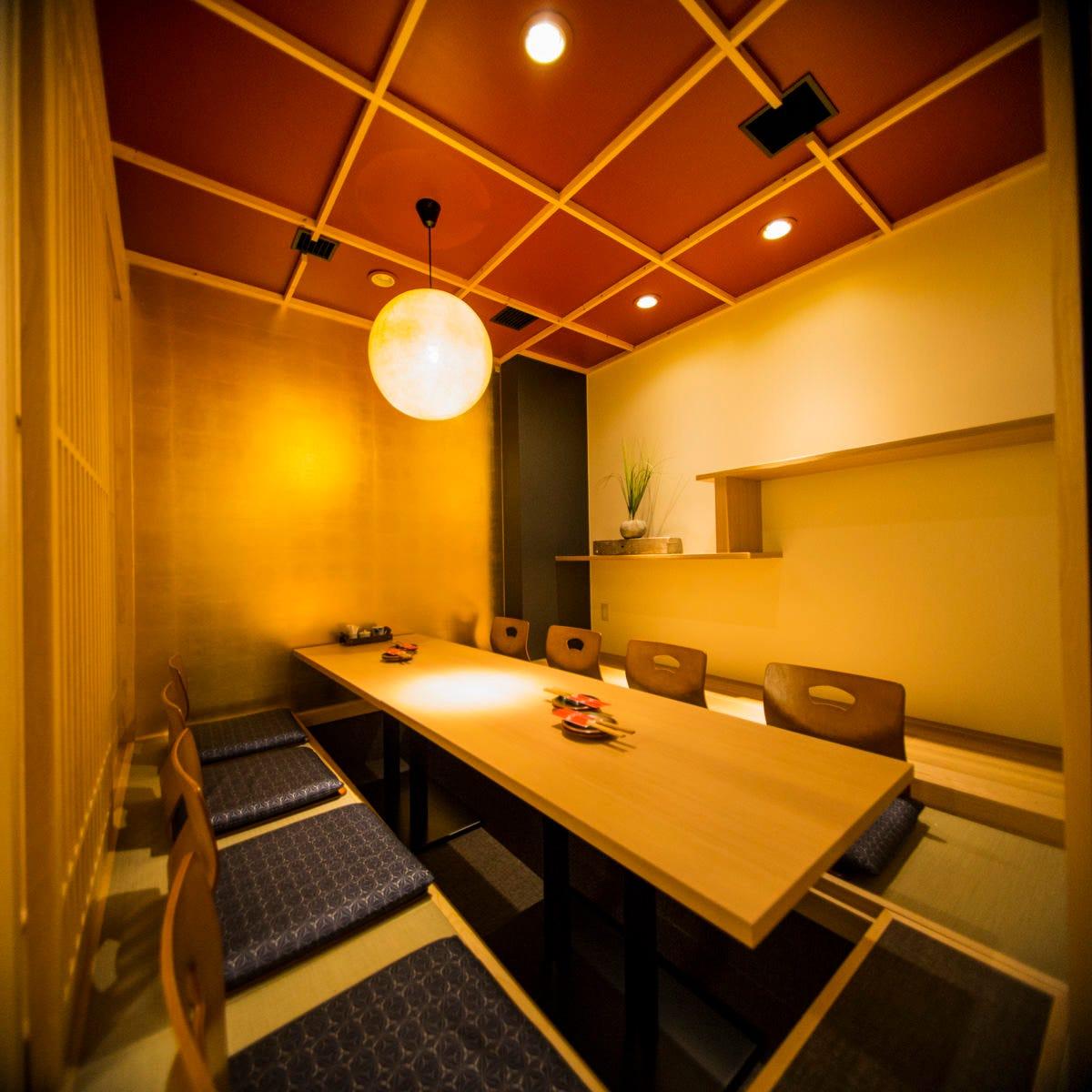 【個室空間】接待・会社宴会にも 個室は2名様~最大40名様対応