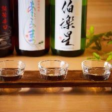 東北の地酒を飲み比べ!