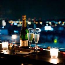 立川の夜景一望できるイタリアンバル