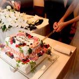 当店のオリジナルケーキ作成可能です♪サイズから何までご相談ください♪