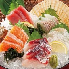 鮮魚入り刺身5種盛り