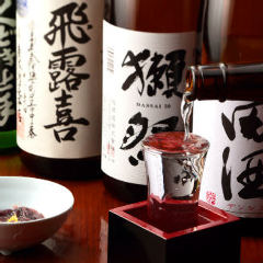こだわりの地酒と海鮮料理 月光 武蔵中原