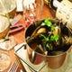 『ムール貝のワイン蒸し』山盛りムール貝にびっくり