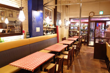 イタリア ワイン食堂 ジョイーレ  店内の画像