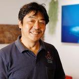フレンチ出身のオーナーシェフは海に関する知識と経験が豊富!
