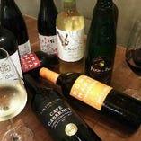 世界各国から厳選した30種類以上のワインをお楽しみ下さい♪