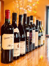 色々な種類のグラスワインが楽しめる