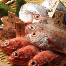 のどぐろ含む新鮮な魚介類を産地直送