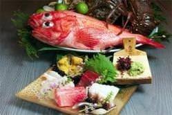 店主自ら、吟味厳選した鮮魚