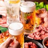 【お食事のみ】お肉や一品料理など人気メニューを味わいつくす「食べ放題コース」(全90品以上)食事会
