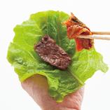 【Tips!】野菜で巻いて「ヌルボンスタイル」