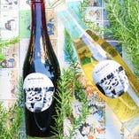 爽やかな味わいが特徴のオリジナルワイン
