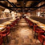 京王プレリアホテル内にあるレストラン 上質な雰囲気ながら気軽な価格帯!
