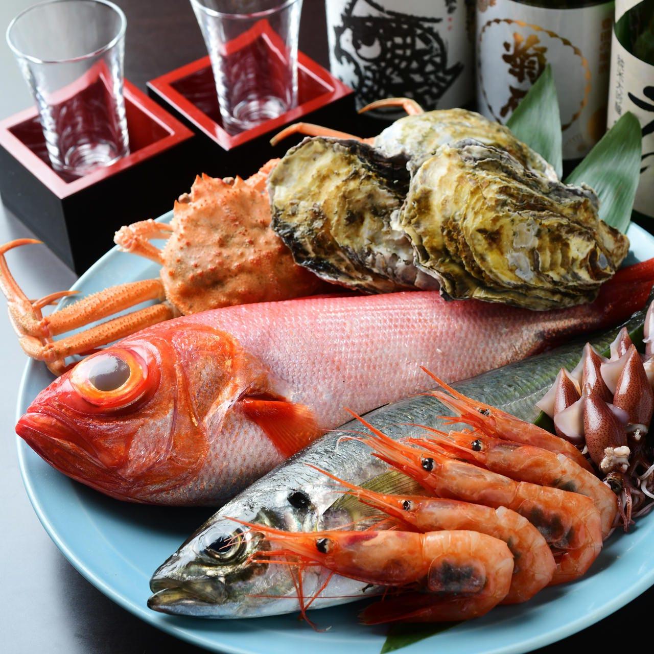 お昼から楽しむ職人の寿司や和の逸品