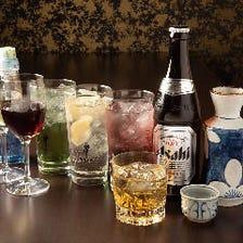 ちょい飲みから宴会まで幅広く対応◎