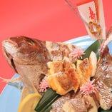 (要予約)焼鯛