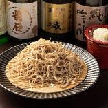 当店自慢の蕎麦メニューはざる・かけ・天ぷらの3種ございます