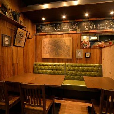 肉×クラフトビール ムサシノバル 三鷹店 店内の画像
