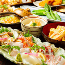 海鮮と季節の食材コース4,000円~