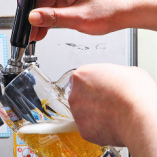 ビールが安い!何杯飲んでも生中1杯280円(税別)