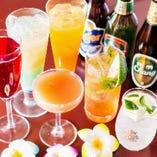 アルコール付飲み放題プラン