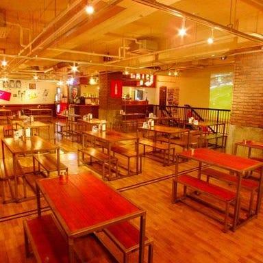American Pizza&Craft Beer TRUNK  店内の画像