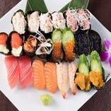 ■お寿司も盛りだくさん…!!