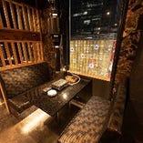 8階から仙台の街並が一望できる。人気のためご予約はお早めに。