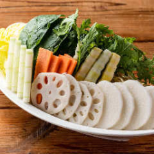 毎朝直送される新鮮野菜を使用!
