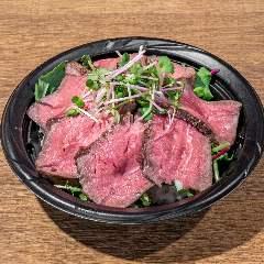 ほおずき特製ローストビーフ丼