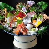 特選鮮魚八種盛り【番屋 鮮魚鬼盛り】【国産】