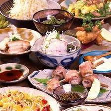 沖縄満喫!なぎコース〈全9品〉新年会・宴会・飲み会