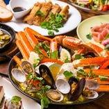 北海道直送 ずわい蟹や市場直送の新鮮な食材をご用意!