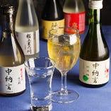 [お飲み物も豊富に] 伊勢海老とよく合うお酒を取揃えております