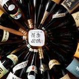 九州の地酒をはじめ焼酎を約40種以上取り揃えております。