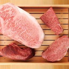 ◇ CUISINE 使用するのは「松阪牛・近江牛・飛騨牛。」 ◇