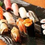 【厳選】江戸前にぎり寿司