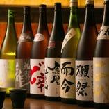 日本酒は常時20種をご用意