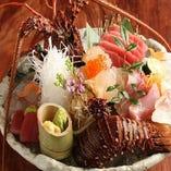 豊洲市場買い付け鮮魚の刺身7種盛り合わせ