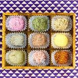 食材の味を引き出す『こだわりの9種の塩』【全国各地から】