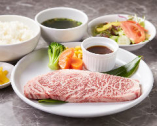 もとぶ牛を堪能! ステーキセットもご賞味ください。