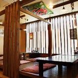 最大8名様対応!!≪半個室席≫歓送迎会や同窓会に最適なスペース