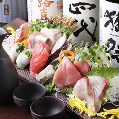 個室居酒屋 蕎麦割烹 山崎 大井町本店 コースの画像