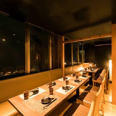 個室居酒屋 蕎麦割烹 山崎 大井町本店 店内の画像