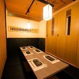 ◆和食蕎麦 割烹 山崎 大井町本店 ◆―広々個室席―