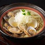 蛤と浅利の貝だしラーメン